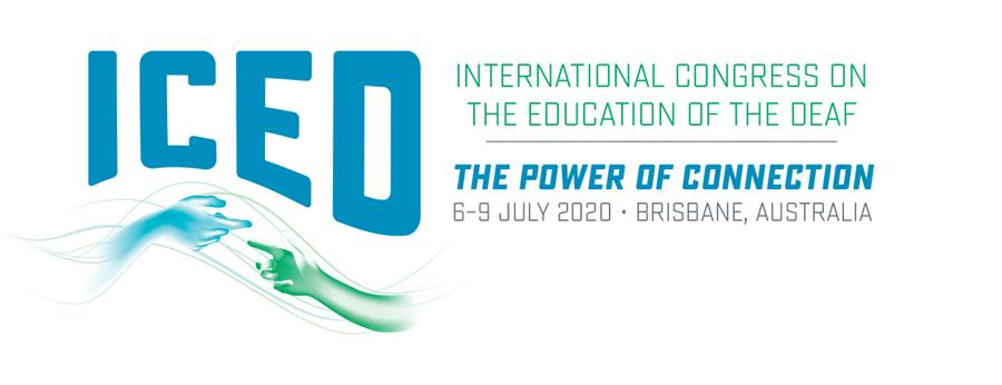 23rd International Congress on the Education of the Deaf. 6 - 9 July 2020